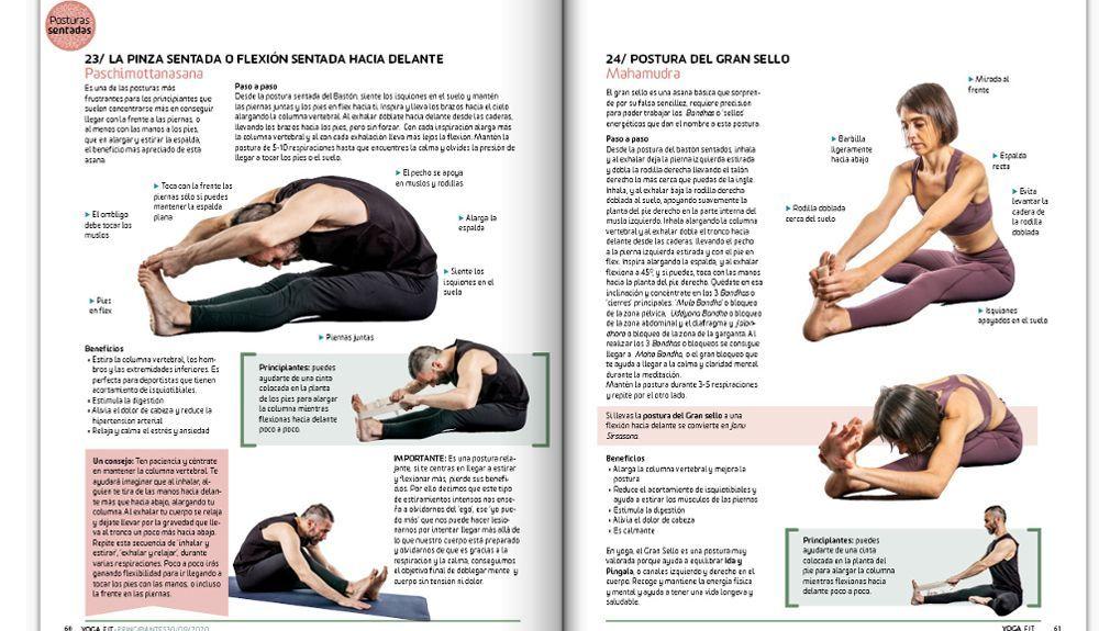Guia de yoga para principiantes YOGAFIT